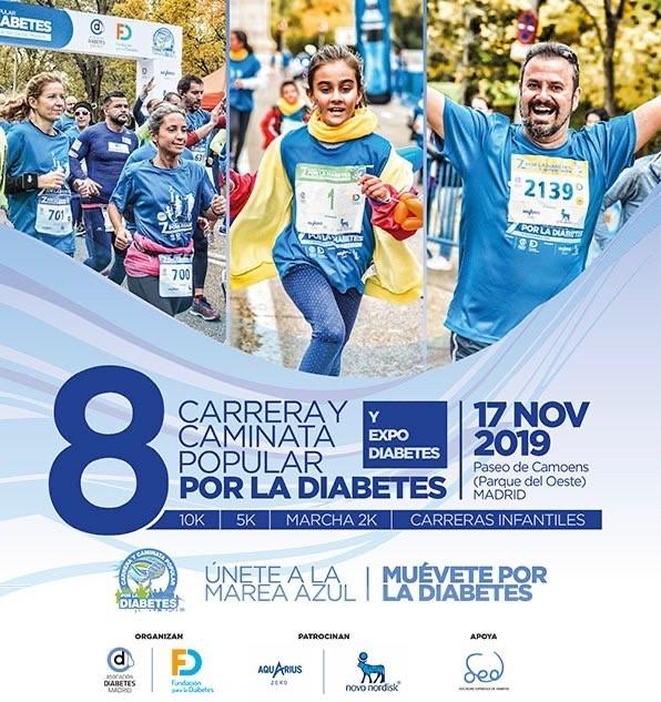 Un año más MASTERTENT en la 8ª Carrera y Caminata Popular por la Diabetes